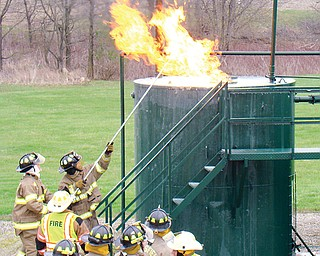 Through the Ohio Oil and Gas Energy Education Program, firefighters get hands-on training to handle just about any type of oil or gas emergency.