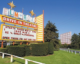 Elm Road Drive-In Theatre in Warren is in the process of making the expensive transition to digital projection. Skyway Drive-In, also in Warren, completed the changeover last month. Both businesses are open for the season.