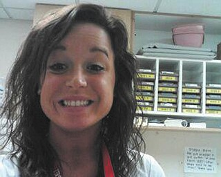 "Ryan Kolenich submitted this photo of his girlfriend and favorite nurse, Terra Koontz of Youngstown. Terra works for HMHP St. Elizabeth Health Center in Youngstown. Ryan writes that Terra ""loves her job and always has a good story to tell. I often call her my 'Super Nurse' and tell her I'm a part of 'Team Nurse'."""