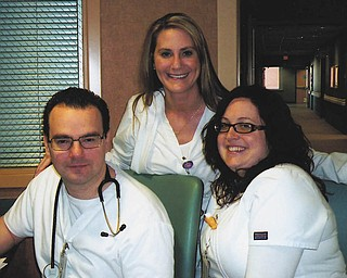 Doug, Nicole and Jamie of Boardman.