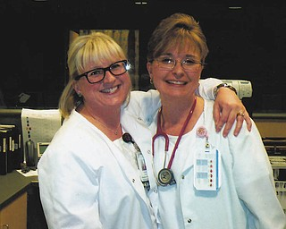Laura and Tammy of Boardman.
