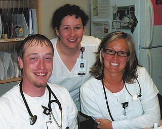 Wayne, Amy and Andrea of Boardman.