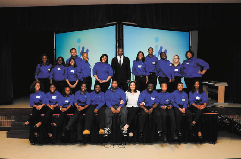 SPECIAL TO THE VINDICATOR Those involved with Inspiring Minds, a nonprofit outreach organization that works with under-represented young people, follow: seated in front, from left to right, are Darian Rucker, La'Deana Simpson, Choniece Phillips, Katrina Harris, Kendall Howard, Anthony Johnson, Patsy Kouvas, Dorian Henderson, Torin Logan, Danyo McGhee and Sa'Tima Smith. In the back row, from left, are Shawná King, Crochell Johnson, Heaven Pough, Rodney Murray, Tamarcus Honzu, Caitlyn Foster, Deryck Toles, Katera Harris, African Grant II, Denzel Stevens, Kate Lacy and Ka'Daja Walker. Not pictured are DaVonta Binion, Torrence Harper, Sydney Johnson, Ta'Geana Lofton, Jada Milner, Ami Murray, Tyra Powell, Jalaya Provitt, Jahari Provitt, Chevon Putnam, Kreana Putnam, Brad Smith, Javier Smith, Ja'Lyn Smith, Willie Stevenson and Jessica Wade.