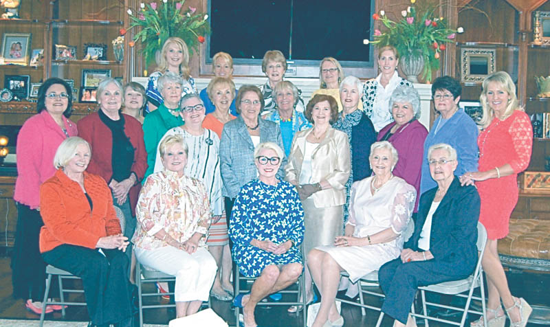 SPECIAL TO THE VINDICATOR  Organized in 1943, Poland Village Gardeners Inc. marked 70 years of existence during a luncheon in April. Seated, from left, are members Nancy Lenga, Lindy McMurray, Wendy Meub, Joan DeLucia and Lee Eminhizer; middle row, Cathy Lind, Sue Beil, Robin Delnegro, Paula Barrett, Margaret Ann Jonas, Barbara DeLisio, Jackie Boniface, Ginny Meloy, Fran DeGenova, Mary Kay Driscoll, Lorraine Santoro, Liz Majer, and Cathryn Jacobs, president; and back row, Susie Lea, Becky Rossi, Sue Anzellotti-Ray, Carol Cox and Chris Boniface.