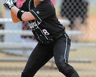 Champion High graduate Katie Saluga capped a terrific career at Slippery Rock by being named Pennsylvania State Athletic Association West Division player of the year.