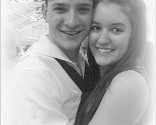 Joyce Howard of North Jackson sent in this photo of Benjamin A. Howard Jr. of Boardman and Heather Atkinson of East Palestine, who have been dating since July 2010. Here they are at Ben's graduation from U.S. Navy Boot Camp in Great Lakes, Ill.
