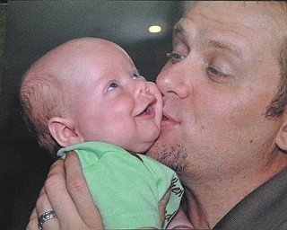 Ron and Cathy Hinderliter of Canfield sent in this photo of their son and grandson, Todd and Brady.