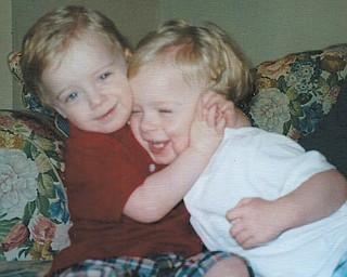 Twins Owen and Zachary Walker share some brotherly love. The boys are now 10, says their mom, Jennifer Walker, who sent in this photo.