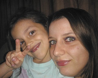 Stacie Michaels sent in this photo of her and her daughter, Sabrina, 7. They live in Struthers.