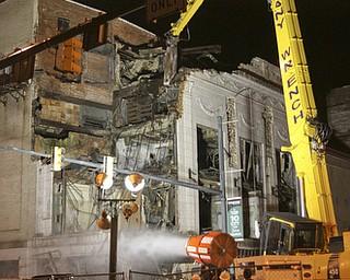 William D Lewis The Vindicator  Demolition of Paramount Theater Monday 7-8-13.