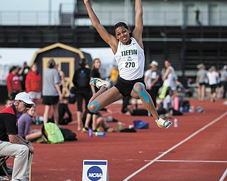 Lordstown High graduate Kayla Ellks ended her college track career just two months ago, finishing as the  Tiffin University Dragons' all-time leading scorer at the Great Lakes Intercollegiate Athletic Conference meet and setting school records in the long jump (5.81 meters, or 19-0 3⁄4 feet) and the triple jump (12.02 meters or 39-5 1⁄4 feet).