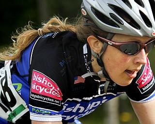 MADELYN P. HASTINGS | THE VINDICATOR  (478) Elisa Nickum, Bishop's Bicycles, Women Cat 3/4