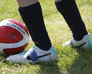 ROBERT K. YOSAY  | THE VINDICATOR  British soccer camp   Wick Recreation Area of MillCreek Park week-long soccer camp focuses on building skills to play the game along with sportsmanship