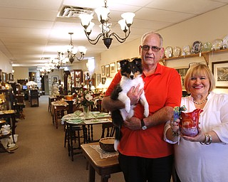 Larry and Ann Canale and bella   have been running an antiques business for more than five years. Their operation started from a small house in Columbiana, but has since expanded to a storefront there with 6,000 square feet. A feature on their business and how they've managed to grow.--Ann's Attic Antiques & Furniture,  Columbiana