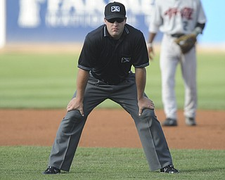 New York Penn League umpire John Mang.