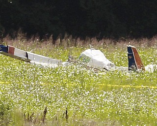 This plane registered to Air McRoyal of Youngstown crashed Sunday at Wheeler Downtown Airport in Kansas City. According to flight records, the plane took off from Youngstown-Warren Regional Airport on Thursday.