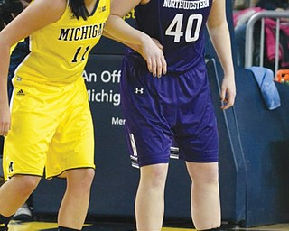 Canfield High graduate Kate Popovec finished her college basketball career at Northwestern. She's the new