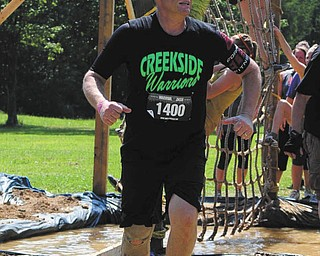 Steve Soyka ran the Warrior Dash Obstacle Course for St Jude Children's Hospital Aug. 11.