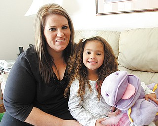 Halle Smith, 4, of Canfield nearly died earlier this year after losing half of her blood after a tonsillectomy. Her mother, Jenny Enyeart, said she was told hemorrhaging is a risk in young patients, and that 2 to 4 percent of patients experience it.