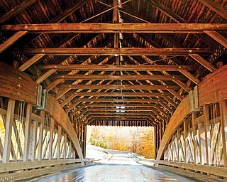 The South Denmark Bridge in Jefferson, near Ashtabula, was built in 1890 and spans Mill Creek. The 81-foot structure is easily accessible.