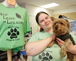 Maria Guyan of Struthers, a lifelong animal lover and rescuer, started New Lease on Life Rescue on Midlothian Boulevard in Struthers in 2010.