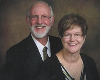 Mr. and Mrs. J. Paul Basinger
