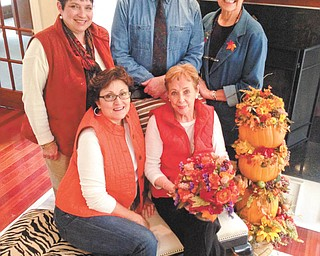 SPECIAL TO THE VINDICATOR Salem Storybook Museum will feature a gala home tour from 5 to 9 p.m. Nov. 22 and 11 a.m. to 4 p.m. Nov. 23, starting at the plaza at Kent City Center, North Lincoln Ave., Salem. Tickets bought in advance cost $15, and the day of the tour, $20. The event, Come Home for the Holidays, will feature five decorated homes in a candlelight tour. Seated are Jennifer Brown, left, and Elizabeth Thatcher, museum director. Standing are Sondra O'Donnell, Robert Viencek, museum board member, and Karen Carter. To make reservations call 330-332-1632 or 330-332-4723. Homes will be decorated for either Thanksgiving or Christmas.
