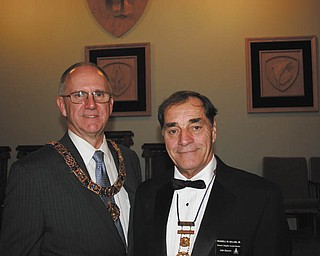 SPECIAL TO THE VINDICATOR Russell W. Gillam Jr. of Canfield was appointed District Deputy Grand Master of the 24th Masonic District on Oct. on 19 at the 204th Annual Communication of the Free & Accepted Masons in Akron. Gillam is past presiding officer in the Youngstown Chapter of Royal Arch Masons, Buechner Council and St. John's Commandery Knights Templar and has received many awards. He also is a member of many other Masonic and community organizations. Above are Gillam, at right, and Kevin B. Todd.