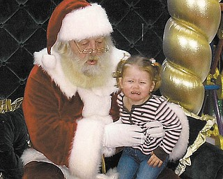 Leann Exley of Pulaski, Pa., sent this picture of her neighbor's granddaughter Sophia Marie Russo, 2, taken Dec. 9, 2009. She is the daughter of Anthony and Amanda Russo, who are currently stationed in Guam. Anthony is in the U.S. Air Force. She is the granddaughter of Melvin and Vickie Courson of Pulaski.