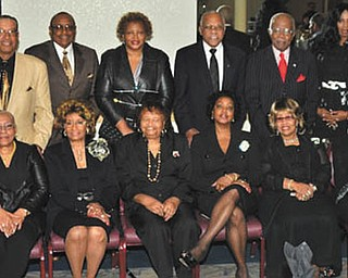 SPECIAL TO THE VINDICATOR The Links Inc. sponsored a recent event to honor black males in the Mahoning Valley. Members of the planning committee for the Black Diamond Celebration are, seated from left, Dr. Joan Boyd, Sarah Brown-Clark, Anne Cobbin, Juanita Davis, Marge Staples, Janice Beachum, Krishmu Shipmon and Margaret Person. Standing are Willard Boyd, Maurice Cousin, James Cobbin, Wanda Smith, Charlie Staples, Lock P. Beachum Sr., Lenora Hill and Dr. Don Person. Other committee members are Dr. Virginia Banks-Bright, professor Al Bright, Dr. Rodney Hill, Juanita Williams, Alnita Bryant-Russell, Sandra Thompkins, Brenda Martin, Monica Hoskin-Vann and Gary Vann. The women are Links members, and the men are called Connecting Links.
