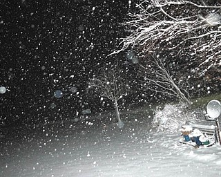 John Sbandi sent proof of the snowfall from Feb. 2, 2010.