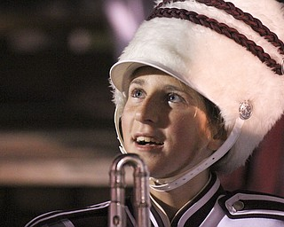 William D LEwis The Vindicator Boardman band member Kaitlin Windt, in wheelchairbefore 11012013 halftime show.