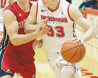 Sophomore Ryan Weber is averaging 10 points and four rebounds a game for the Youngstown State men's