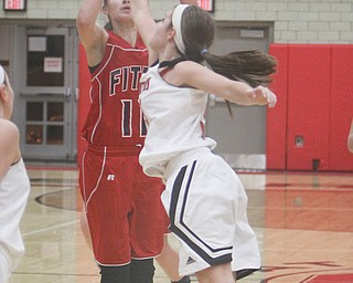 Fitch's Megan Sefcik (11) has made 88 percent of her free throws this season (79 of 91), which is better than all but four players in the NBA. The Falcon senior will lead Fitch against Lakeview tonight in one of the area's