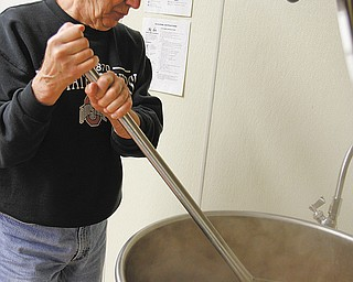 Mike Devine, who volunteers with his wife, Ellen, with the John Severn Soup Group at St. Dominic Church in