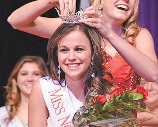 As a result of being crowned Miss North Central Ohio, Jenna DePizzo will now compete for the Miss Ohio title in June. Roark Studios | Special to The Vindicator