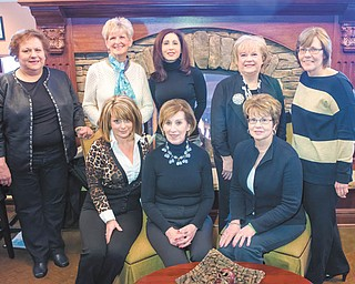 SPECIAL TO THE VINDICATOR The Silver Lining Cancer Committee is gearing up for its Springtime Fashion event, The B's, at 1 p.m. April 6 at A La Cart Catering, 429 Lisbon St., Canfield. It will include a brunch, beauty by Salon Shericci and boutique fashions by Possessions. Committee members, in front from left, are Cheryl Crum, Cathy Baret and Fran Blanchard; in back are Mary Witkowski, Pat See, Dana Heid, Norine Blasko and Dolores Kountz. Other members of the committee are Crystal Shells, Nancy Connors and Marilyn Abramski. To buy tickets for $20 each, call Baret at 330-519-3407. All proceeds will remain in the Mahoning Valley.