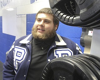 William d Lewis The Vindicator  Nick rizzo, Poland HS senior and football player talks about issues he faces due to being bipolar.