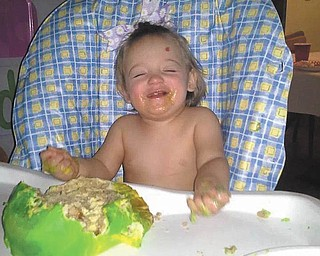 Piper Michele Duncan turned 1 year old on March 8 and was in ecstasy as she enjoyed her very own birthday cake. Her parents are Kathryn and Michael Duncan. Sent by grandparents, Jim and Kathy Funtulis of Champion.