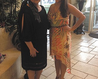 This is a picture of Pam Hart and her daughter, Katie Hart of Girard, when visiting Naples, Fla., during her remission after beating breast cancer!