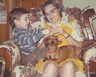 This picture from 1974 was taken of Barb Cardarelli's mother, Bobbie Hewitt, who died in 2011. It reminded Barb that her mom always had a lap warm enough and big enough for anyone who needed some loving. In this picture she is paying full attention to something Barb's son, Michael (now 43 and living in Las Vegas), was showing her.