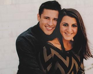 Jason Metze and Ashley Visinardi