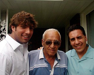Taken on Father's Day six years ago, this is grandfather Donato Buccino, son Patsy Buccino and grandson Danny Buccino. Submitted by Irene Buccino.