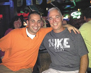 Here are Mike Pero of Youngstown and his son, Michael Pero of Austintown.