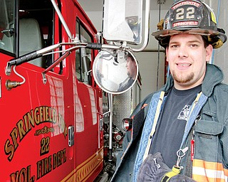 Springfield Township firefighter Dustin Davis attended the Ohio Oil and Gas Energy Education Program's Responding to Oilfield Emergencies Training Workshop in May.
