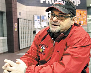 After seven seasons, Randy Emery has stepped down as the Canfield High School hockey program's head coach. Before that, Emery coached Canfield's developmental team for three seasons. Replacing him will be former Youngstown SteelHound captain and assistant coach Chris Richards.