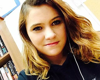 Photo of 16-year old Gina Burger; the victim found June 24, 2014 in a Mercer County landfill.