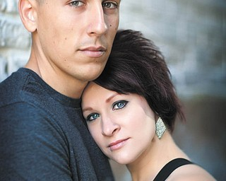 Eric Anticola and Jenna Stanko