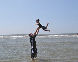 Here are Nick and Nico Gentile of Salem, while on a family vacation in Seabrook Island, S.C. Submitted by Andrea Gentile