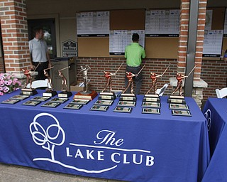 .          ROBERT  K. YOSAY | THE VINDICATOR..The Trophy table ..GGOV at The Lake Club in Poland -...-30-